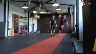 1 perc TRX – Bicepsz erősítés
