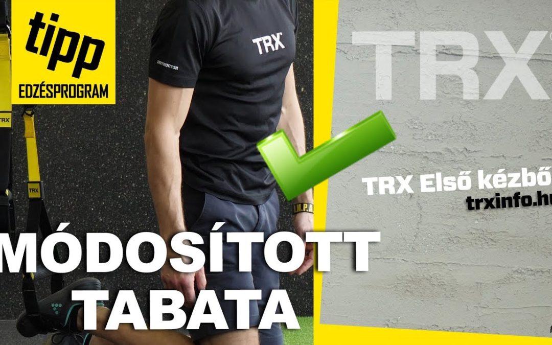 TRX Első kézből – módosított Tabata edzésprogram